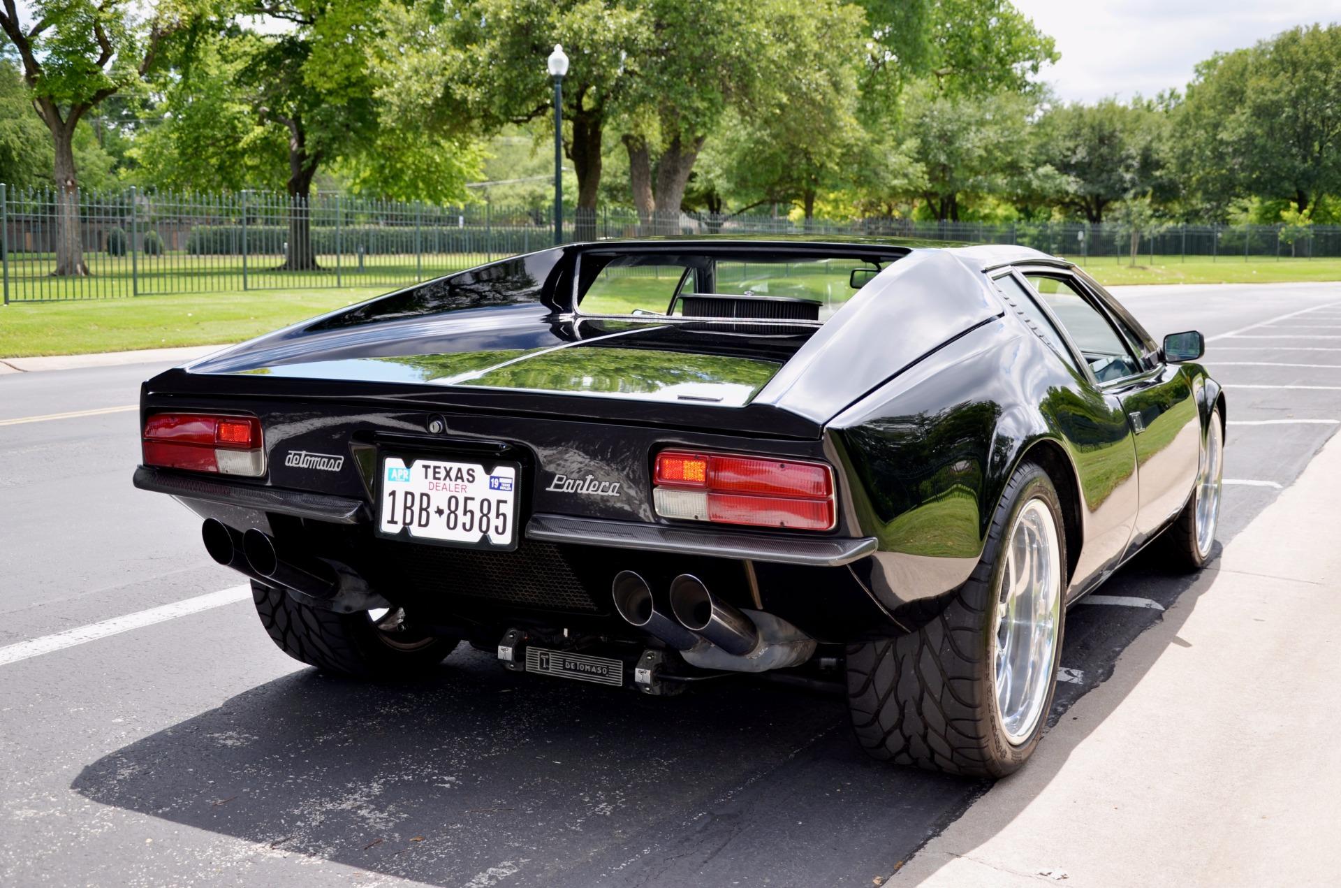 Used De Tomaso Pantera >> 1972 FORD PANTERA DE TOMASO Stock # 72PAN for sale near Dallas, TX | TX FORD Dealer