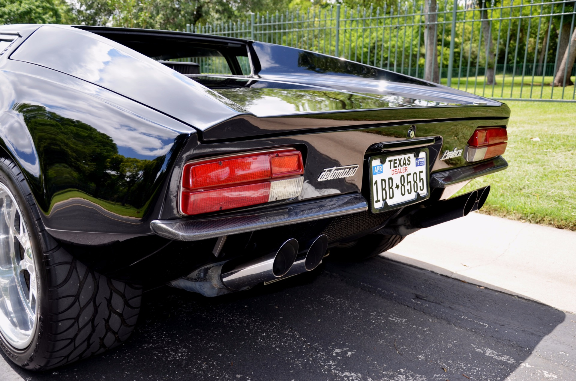 1972 ford pantera de tomaso stock 72pan for sale near dallas tx tx ford. Cars Review. Best American Auto & Cars Review