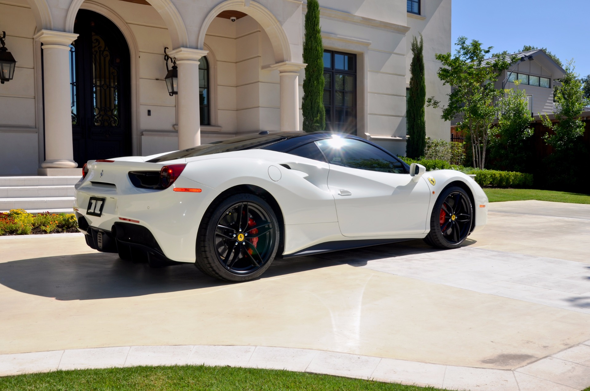 motorcars dallas c platinum in used a ferrari sale tx l rent htm spider for