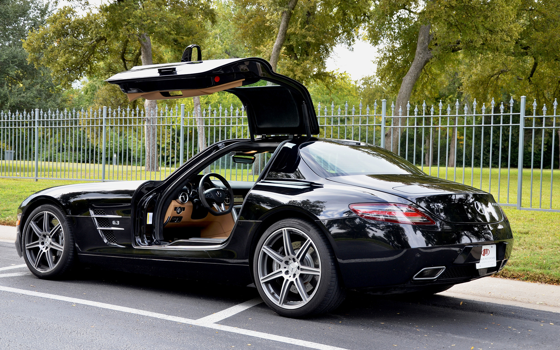 2011 mercedes benz sls amg stock 135995 for sale near for Mercedes benz service dallas tx