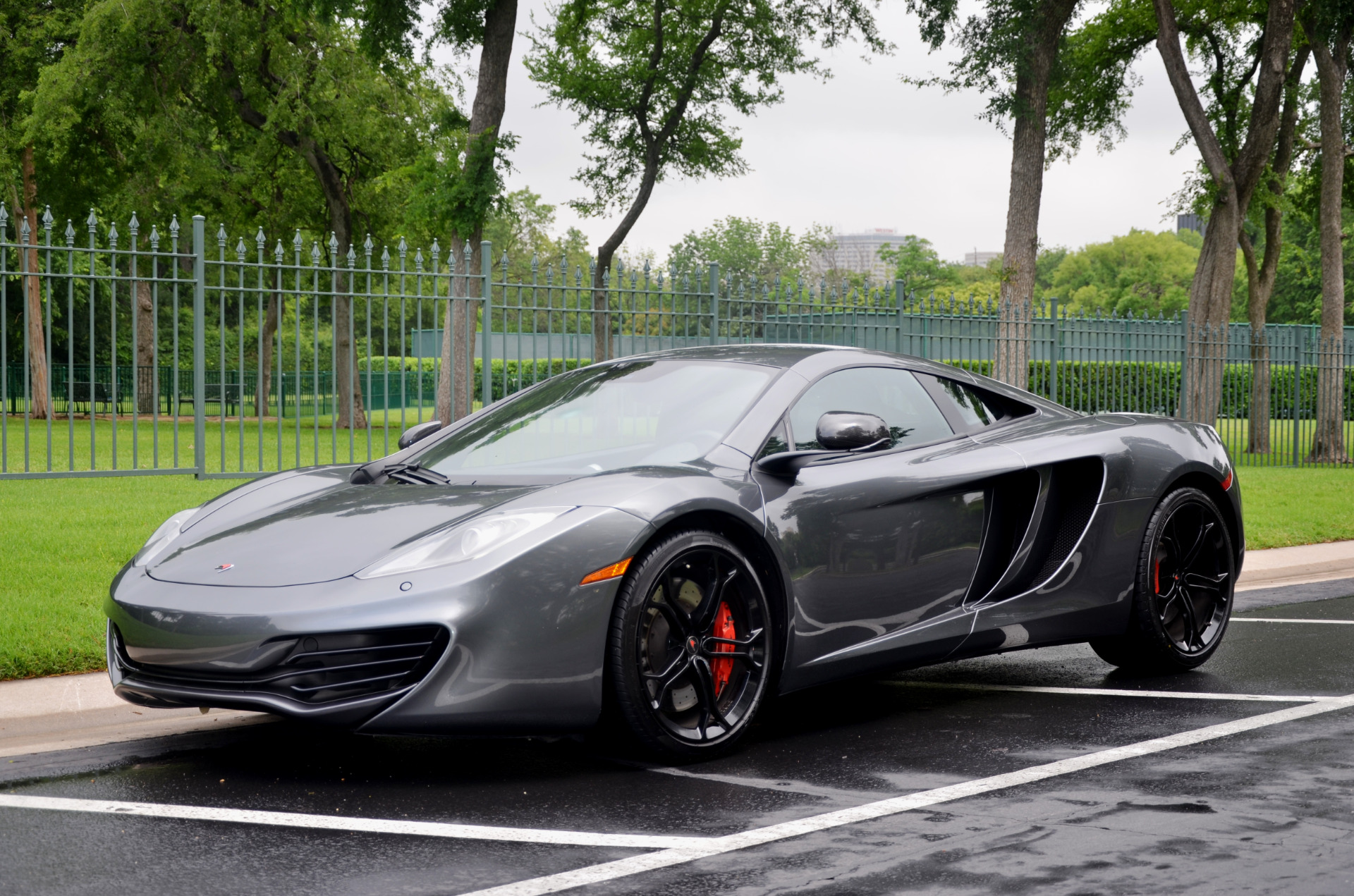 2012 mclaren mp4 12c stock 116996 for sale near dallas. Black Bedroom Furniture Sets. Home Design Ideas