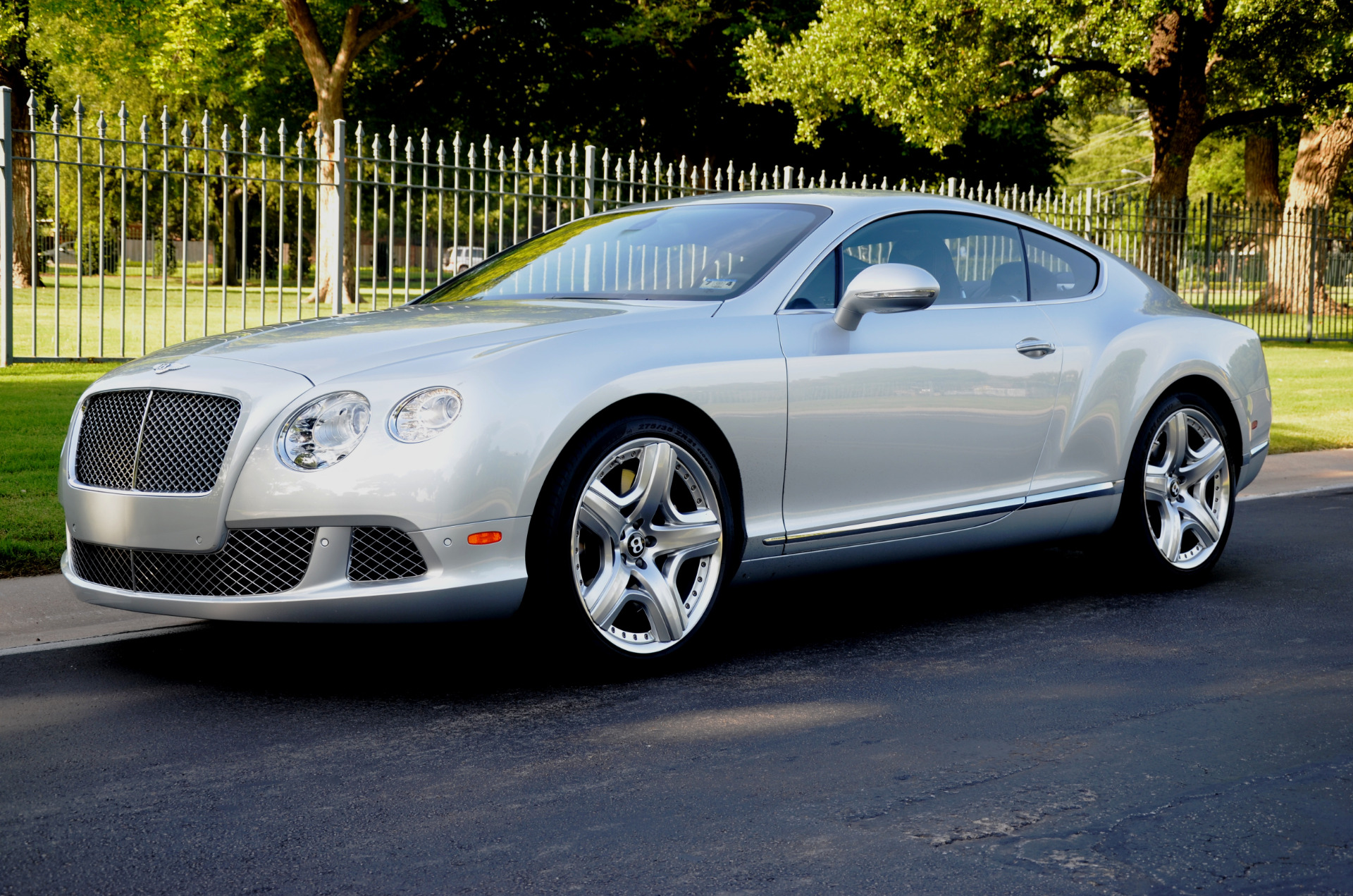 2012 bentley continental gt stock 116997 for sale near dallas tx tx bentley dealer. Black Bedroom Furniture Sets. Home Design Ideas