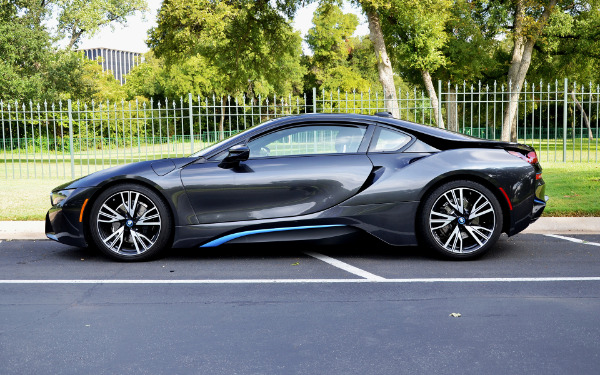 2015 BMW i8 for sale Sold Platinum Motorcars in Dallas TX 3