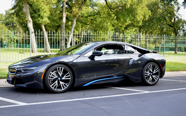 2015 BMW i8 for sale Sold Platinum Motorcars in Dallas TX 1