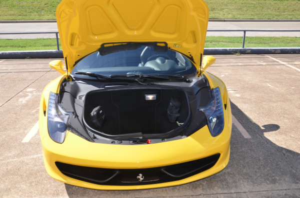 2013 Ferrari 458 Spider for sale Sold Platinum Motorcars in Ft Worth TX 2