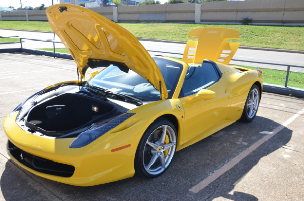 2013 Ferrari 458 Spider for sale Sold Platinum Motorcars in Ft Worth TX 3