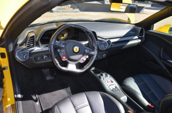 2013 Ferrari 458 Spider for sale Sold Platinum Motorcars in Ft Worth TX 4