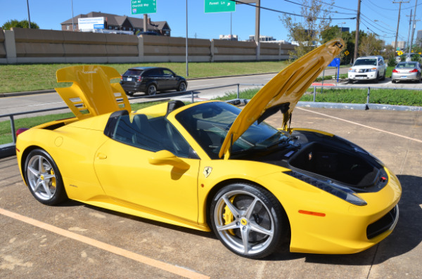 2013 Ferrari 458 Spider for sale Sold Platinum Motorcars in Ft Worth TX 1