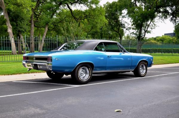 1967 CHEVROLET CHEVELLE for sale Sold Platinum Motorcars in Dallas TX 4