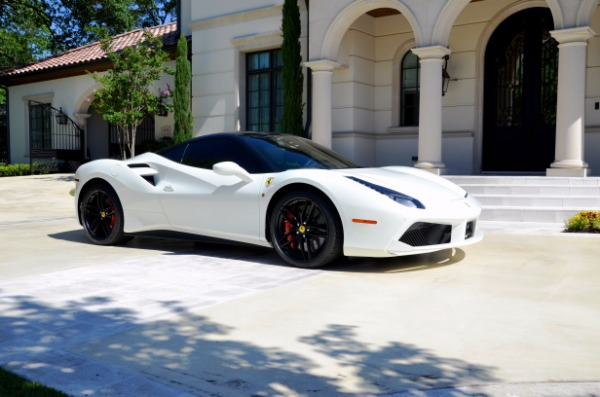 Used 2017 Ferrari 488 GTB for sale Sold at Platinum Motorcars in Dallas TX 75247 2