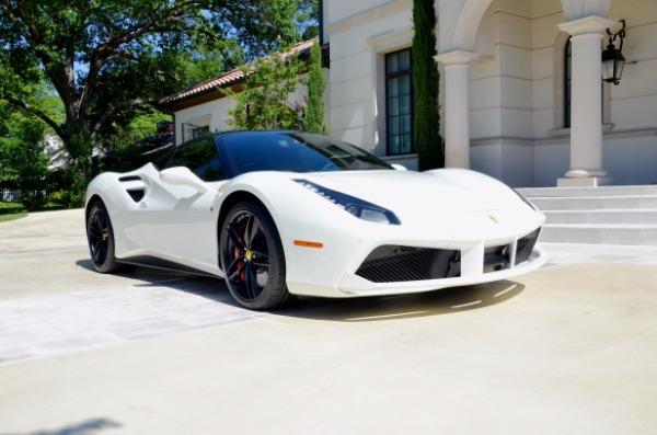 Used 2017 Ferrari 488 GTB for sale Sold at Platinum Motorcars in Dallas TX 75247 3