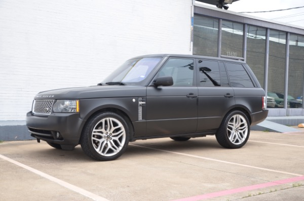 Used 2010 Land Rover Range Rover HSE LUX for sale Sold at Platinum Motorcars in Dallas TX 75247 2