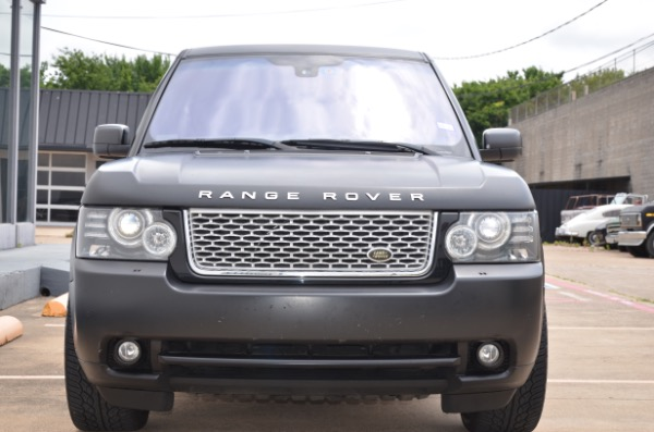 Used 2010 Land Rover Range Rover HSE LUX for sale Sold at Platinum Motorcars in Dallas TX 75247 3
