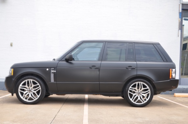 Used 2010 Land Rover Range Rover HSE LUX for sale Sold at Platinum Motorcars in Dallas TX 75247 1