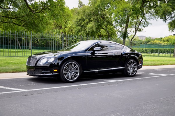 2015 Bentley Continental GT SPEED for sale Sold Platinum Motorcars in Ft Worth TX 2