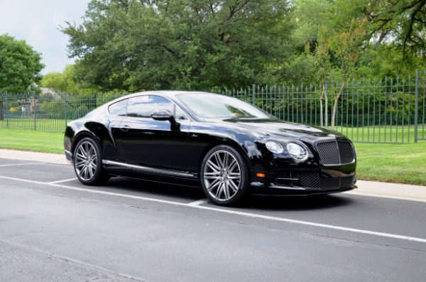 2015 Bentley Continental GT SPEED for sale Sold Platinum Motorcars in Ft Worth TX 4