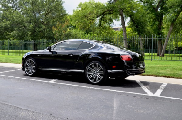 2015 Bentley Continental GT SPEED for sale Sold Platinum Motorcars in Ft Worth TX 6