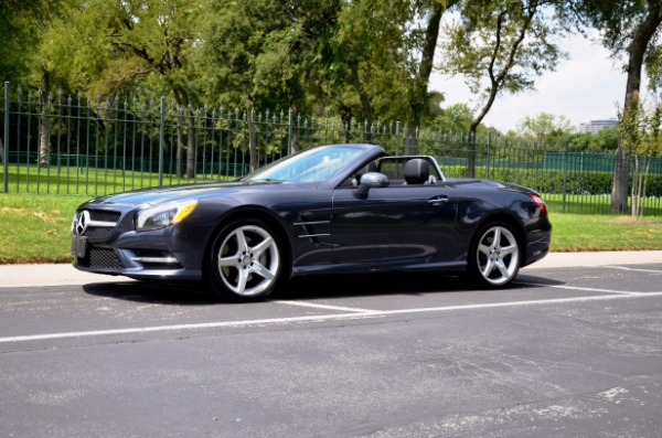 Used 2014 Mercedes-Benz SL-Class SL 550 for sale Sold at Platinum Motorcars in Dallas TX 75247 2