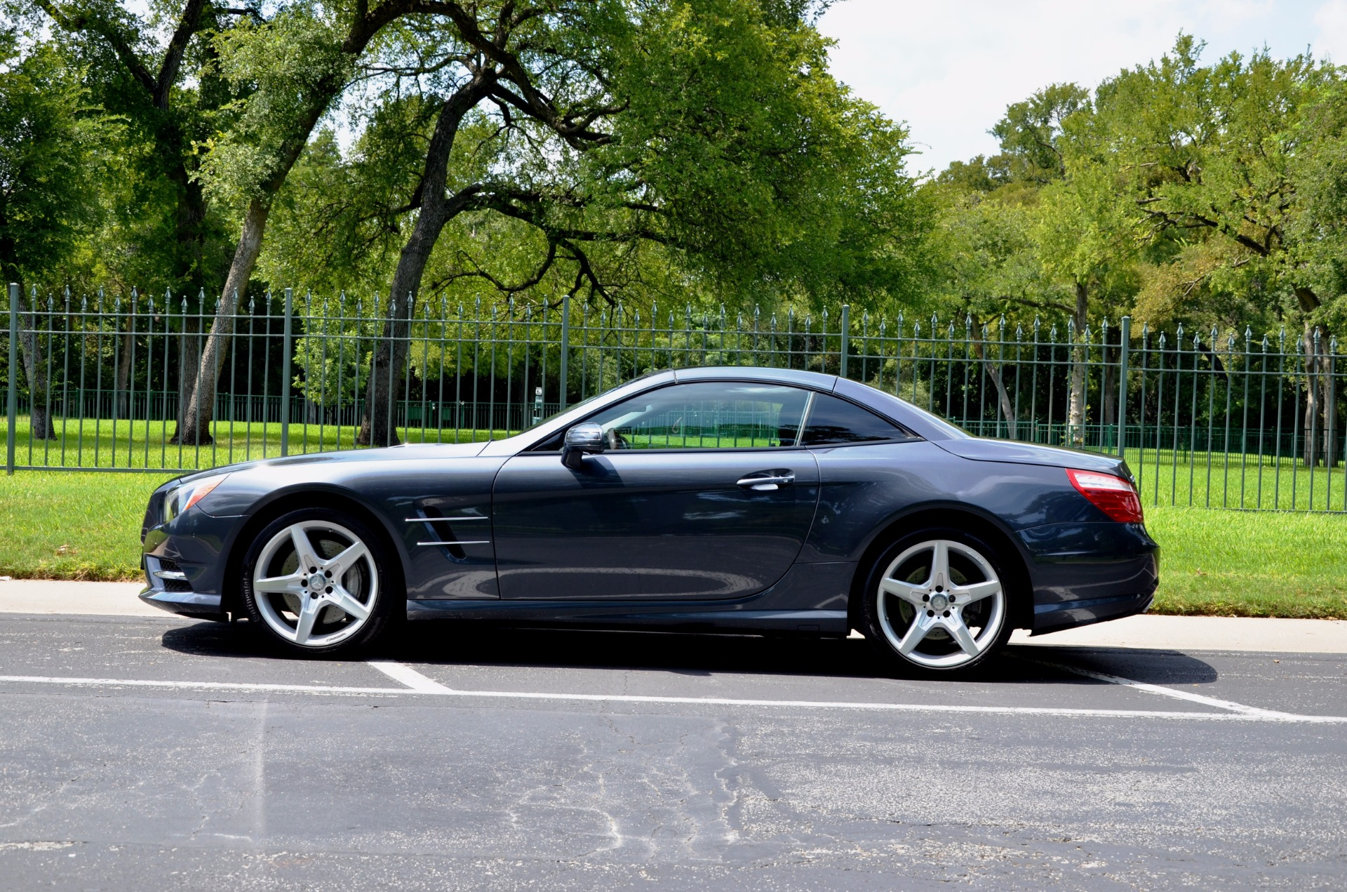 Used 2014 Mercedes-Benz SL-Class SL 550 for sale Sold at Platinum Motorcars in Dallas TX 75247 1