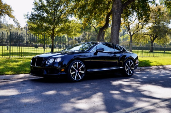 2014 Bentley Continental GT V8 S for sale Sold Platinum Motorcars in Ft Worth TX 2