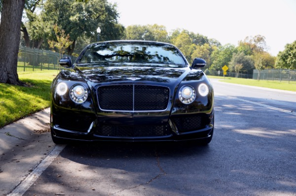 2014 Bentley Continental GT V8 S for sale Sold Platinum Motorcars in Ft Worth TX 3