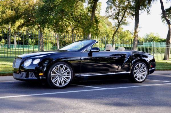 2014 Bentley Continental for sale Sold Platinum Motorcars in Ft Worth TX 2