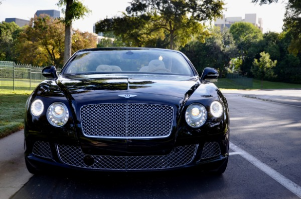 2014 Bentley Continental for sale Sold Platinum Motorcars in Dallas TX 3