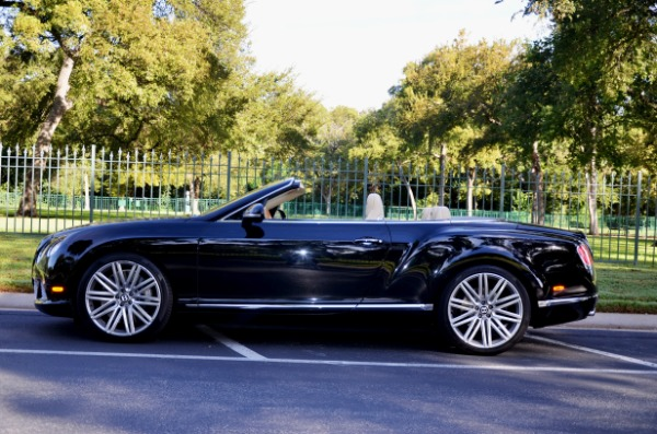 2014 Bentley Continental for sale Sold Platinum Motorcars in Ft Worth TX 1