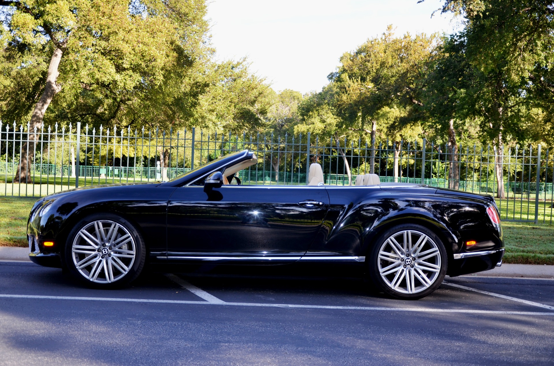 2014 Bentley Continental for sale Sold Platinum Motorcars in Dallas TX 1