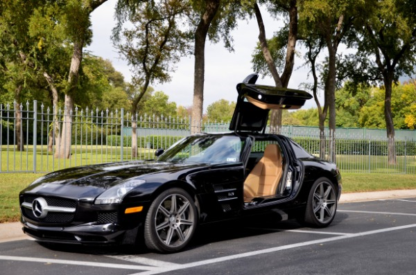 Used 2012 Mercedes-Benz SLS AMG for sale Sold at Platinum Motorcars in Dallas TX 75247 3