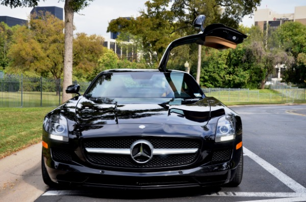 Used 2012 Mercedes-Benz SLS AMG for sale Sold at Platinum Motorcars in Dallas TX 75247 4