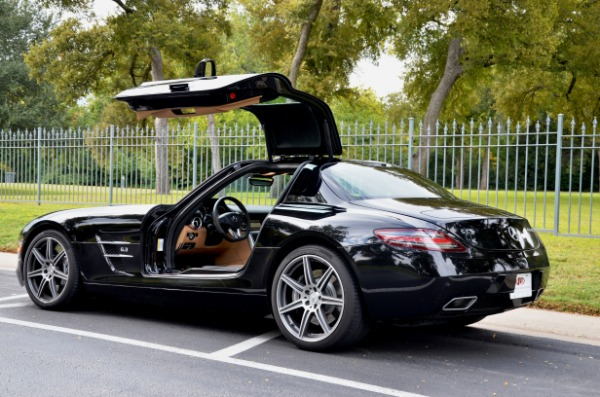 Used 2012 Mercedes-Benz SLS AMG for sale Sold at Platinum Motorcars in Dallas TX 75247 1