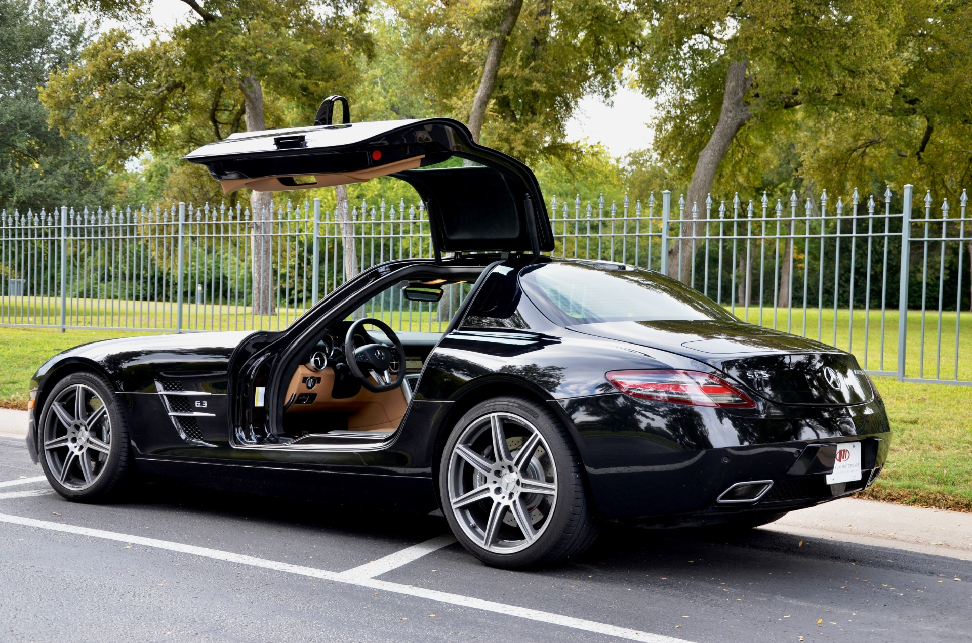 2012 Mercedes-Benz SLS AMG for sale Sold Platinum Motorcars in Ft Worth TX 1