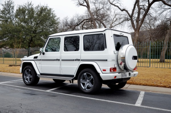 2016 Mercedes-Benz G-Class for sale Sold Platinum Motorcars in Ft Worth TX 4