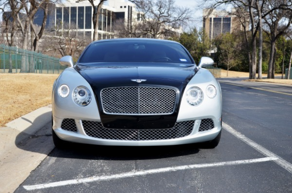 2012 Bentley Continental for sale Sold Platinum Motorcars in Ft Worth TX 3