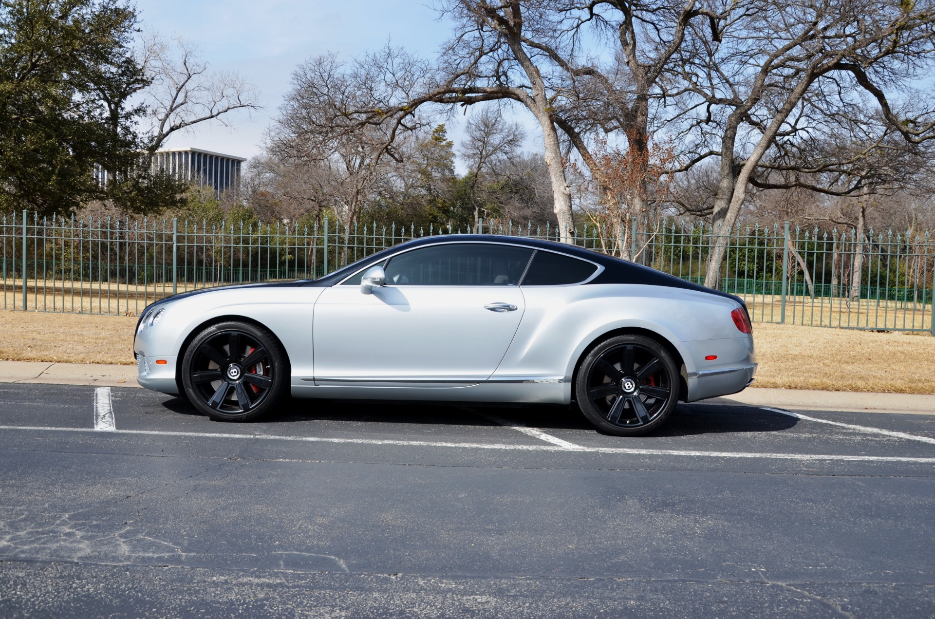 2012 Bentley Continental for sale Sold Platinum Motorcars in Ft Worth TX 1