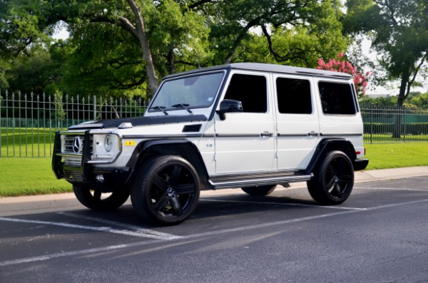 Used 2015 Mercedes-Benz G-Class G 550 Special Edition for sale Sold at Platinum Motorcars in Dallas TX 75247 1