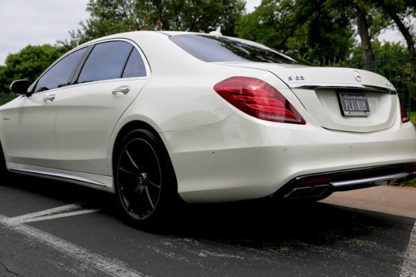 Used 2016 Mercedes-Benz S-Class AMG S 63 for sale Sold at Platinum Motorcars in Dallas TX 75247 2