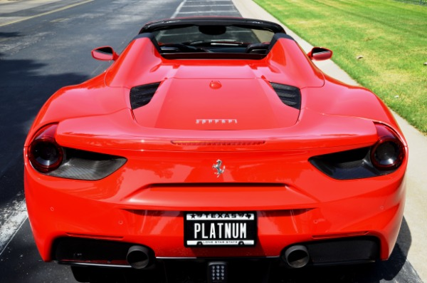 2017 Ferrari 488 Spider for sale Sold Platinum Motorcars in Ft Worth TX 5