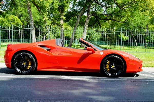 2017 Ferrari 488 Spider for sale Sold Platinum Motorcars in Ft Worth TX 6