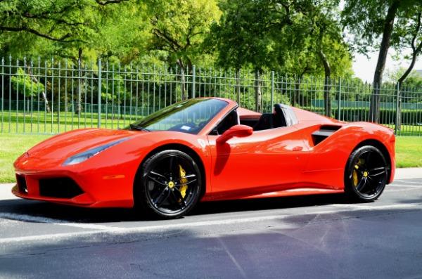 2017 Ferrari 488 Spider for sale Sold Platinum Motorcars in Ft Worth TX 1