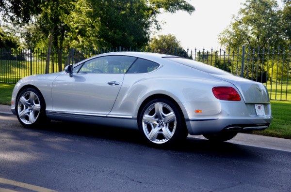 2012 Bentley Continental GT for sale Sold Platinum Motorcars in Ft Worth TX 5