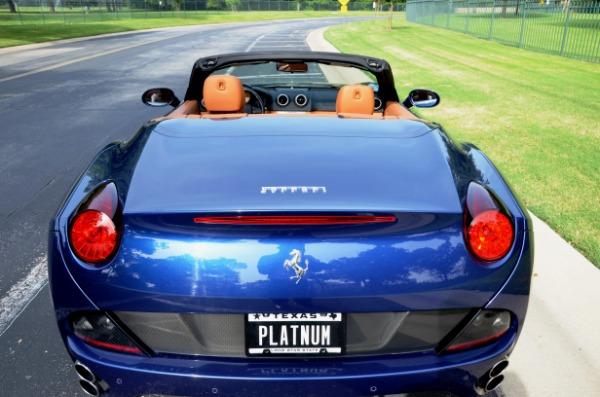 2013 Ferrari California for sale Sold Platinum Motorcars in Ft Worth TX 6