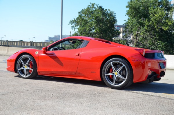 Used 2014 Ferrari 458 Spider for sale Sold at Platinum Motorcars in Dallas TX 75247 3