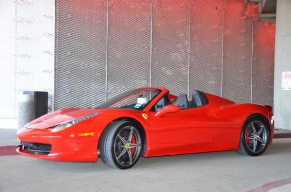 Used 2014 Ferrari 458 Spider for sale Sold at Platinum Motorcars in Dallas TX 75247 6