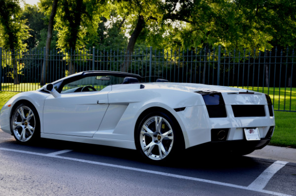 2008 Lamborghini Gallardo for sale Sold Platinum Motorcars in Dallas TX 5
