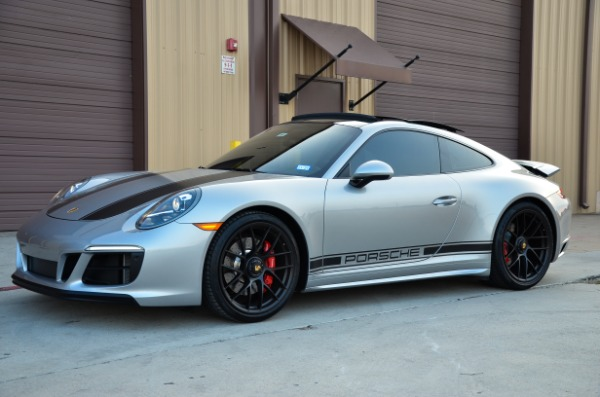 2019 Porsche 911 Carrera GTS for sale Sold Platinum Motorcars in Ft Worth TX 4