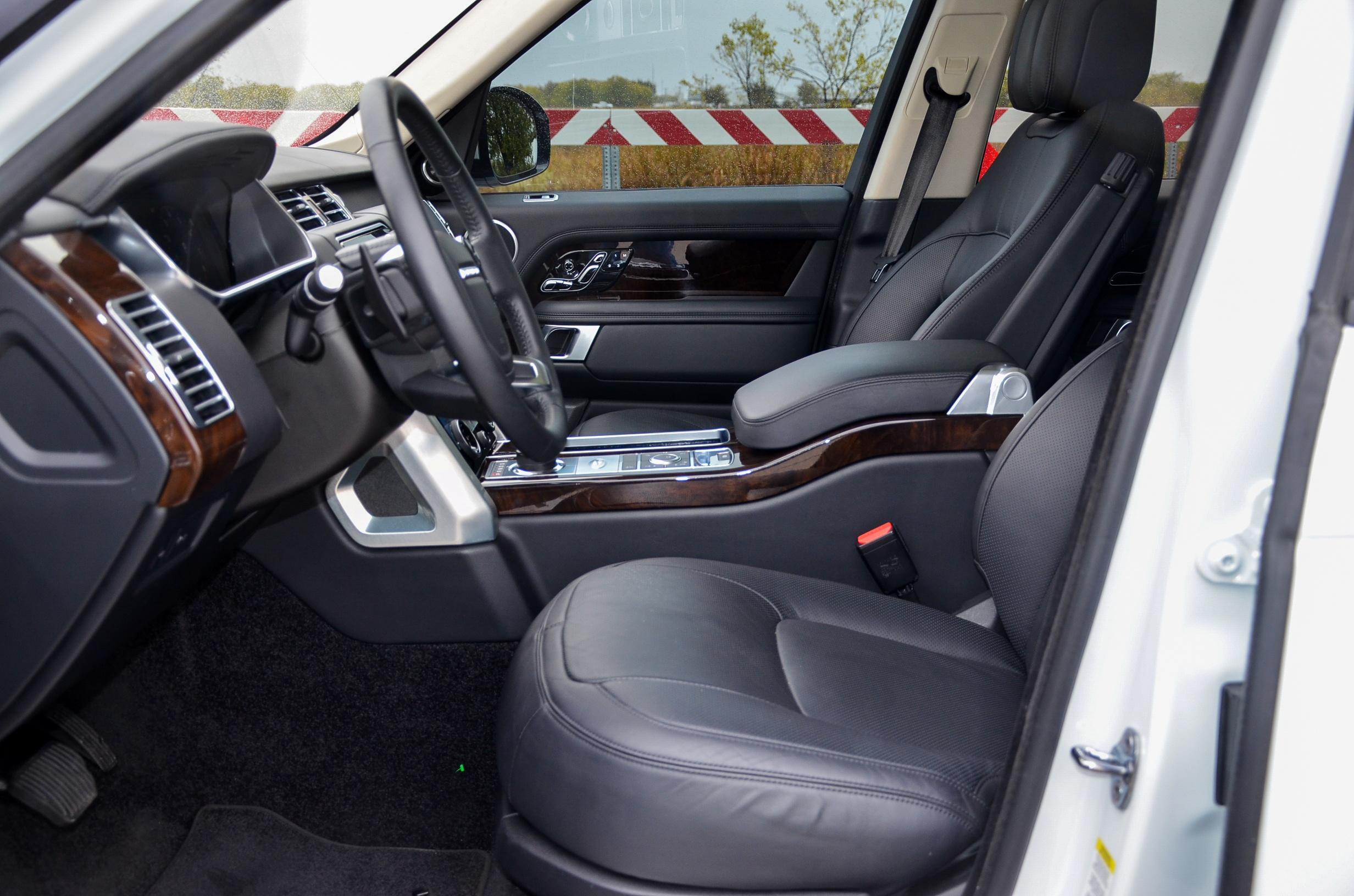 Land Rover White Range Rover