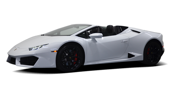 Lamborghini Huracan Spider For Rent at Platinum Motorcars in Dallas TX
