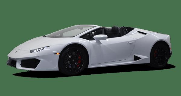 Lamborghini Huracan Spider For Rent at Platinum Motorcars in Ft Worth TX